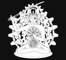 Steampunk Manjushri One Piece - Long Sleeve