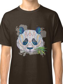 Ethnic Highly Detailed Panda Classic T-Shirt