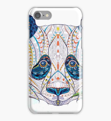 Ethnic Highly Detailed Panda iPhone Case/Skin