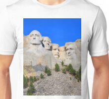 Mount Rushmore Black Hills South Dakota Presidents Unisex T-Shirt