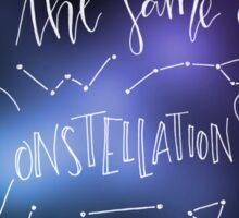 Constellations - Tom Odell Sticker