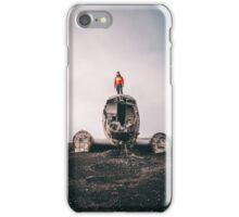 Crashed DC 3 Plane // Iceland iPhone Case/Skin