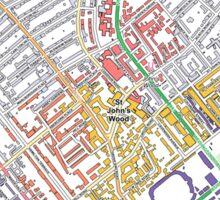 Multiple Deprivation Abbey Rd ward, Westminster Sticker