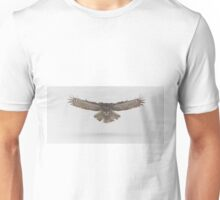 Great Grey Owl in flight Unisex T-Shirt