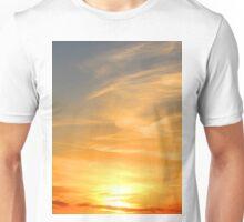 Sunset Over South Dakota Plains Unisex T-Shirt