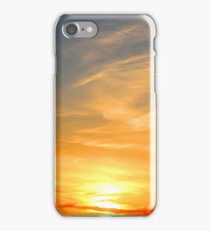 Sunset Over South Dakota Plains iPhone Case/Skin