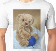 Baby Bear Playing with Some Wool Unisex T-Shirt