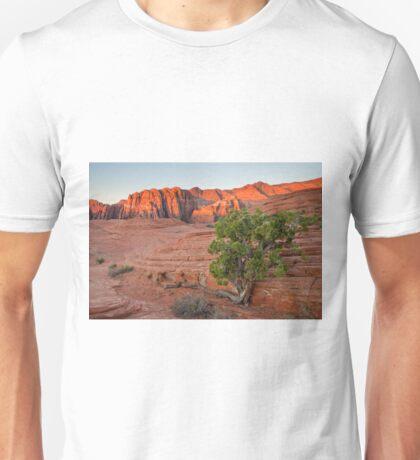 Juniper Tree at Snow Canyon Unisex T-Shirt