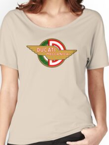 Ducati retro vintage logo Women's Relaxed Fit T-Shirt