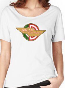 Ducati retro vintage logo Women's Relaxed Fit T-Shirt