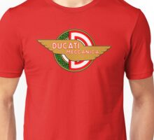 Ducati retro vintage logo Unisex T-Shirt