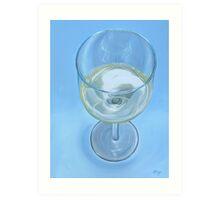 A Glass of Wine is Fine Art Print