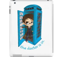 The Doctor Is In The Box iPad Case/Skin