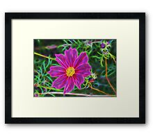 Fractal Flower 2 Framed Print