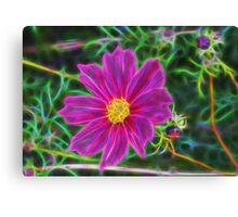 Fractal Flower 2 Canvas Print