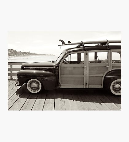 classic woodie Photographic Print