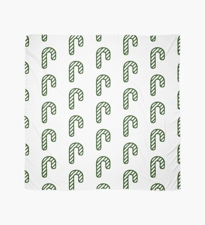Christmas 2016 - Candycane Design - Green and White Scarf
