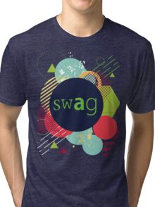 latest SWAG abstract design 2016 Tri-blend T-Shirt