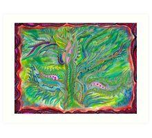 The Weaver  Art Print