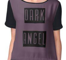 Dark Angel Chiffon Top