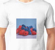 Raspberries and Blueberries Unisex T-Shirt