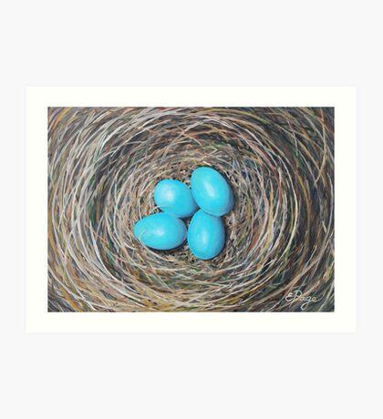 Robin's Eggs Art Print