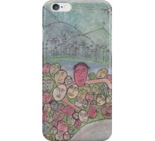 family gathering on Earth iPhone Case/Skin