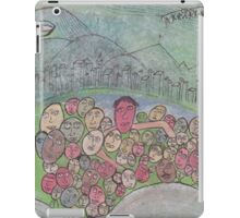 family gathering on Earth iPad Case/Skin