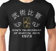Han's Tournament Inspired enter the dragon Movie Unisex T-Shirt
