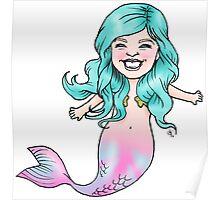 Gracie Mermaid Poster