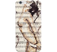 Nude HQ-Foto of my original ink drawing - Art. Palluch iPhone Case/Skin