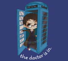The Doctor Is In The Box by nardesign