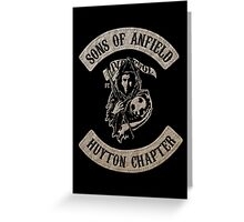 Sons of Anfield - Huyton Chapter Greeting Card