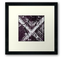 Taxi to Nowhere Framed Print