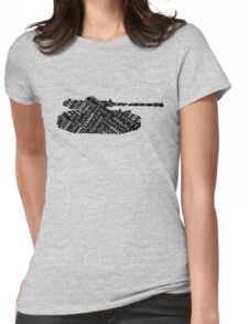 Military Tank Commander Army Phonetic Alphabet Design Womens Fitted T-Shirt