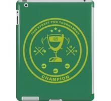 Pog tournament champion iPad Case/Skin
