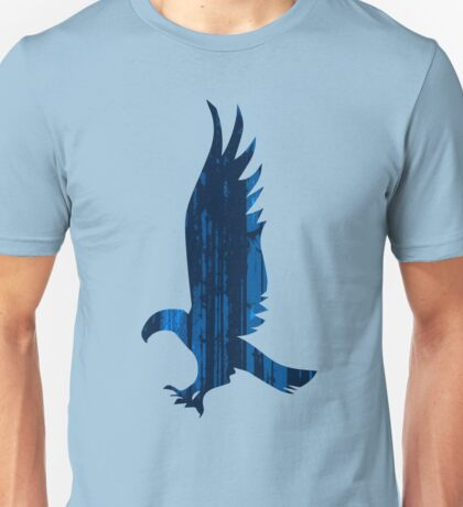 Eagle blue forest Unisex T-Shirt