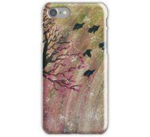 Cherry Blossom Birds iPhone Case/Skin