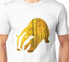 Badger yellow forest Unisex T-Shirt