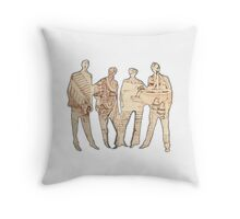 Our Debt to the Master Throw Pillow