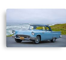 1957 Ford Thunderbird Convertible Canvas Print