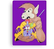 ALF Gets Lucky Canvas Print