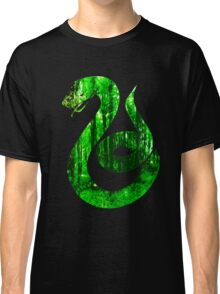 Snake green forest Classic T-Shirt