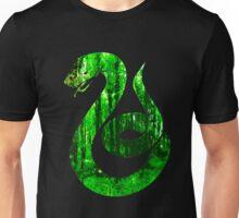 Snake green forest Unisex T-Shirt