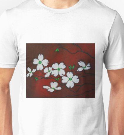 Dogwood Blossoms Unisex T-Shirt