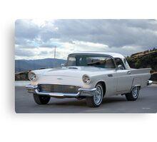 1957 Ford Thunderbird Convertible Hardtop Canvas Print