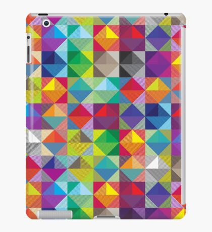 New fresh colors mis - match. Triangle art : arrival in shop! iPad Case/Skin