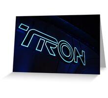 Neo-Tron Greeting Card