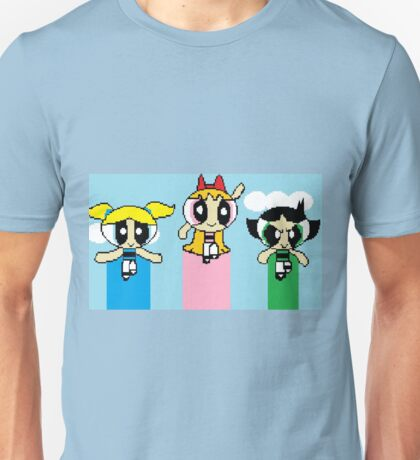 8-Bit Powerpuff Girls Unisex T-Shirt
