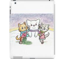 Snowcat and Kittens iPad Case/Skin